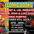 Lots Of Things To Do In New York This Week If You Like Comics. Wow.(UPDATE)