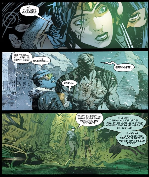 Is The DC Comics Timeline Already Screwed? Doom Sigils (Spoilers)