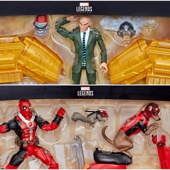 Marvel Legends Professor X and Deadpool Vehicles Up For Preorder