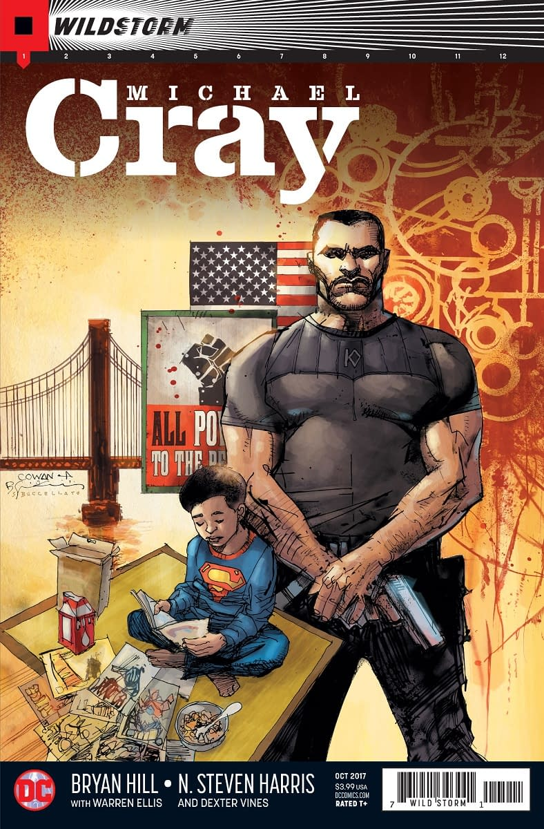 Wildstorm Universe Expands With Michael Cray Solo Book, Teasing A DCU Crossover