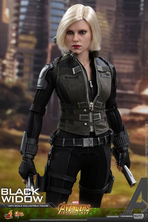 Black Widow Gets Her Avengers: Infinity War Hot Toys Release