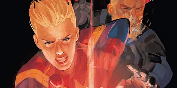 Captain Marvel #128 cover by Phil Noto