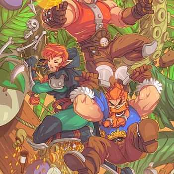 A look at promo art for Skullkickers (Image: Jim Zub, Edwin Huang and Chris Stevens)