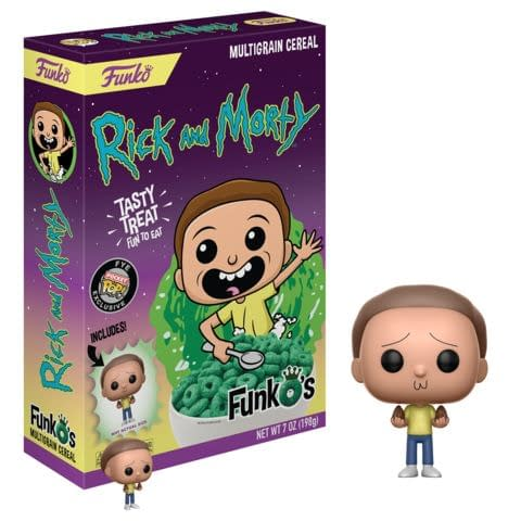 Funko Cereal Rick and MOrty Morty
