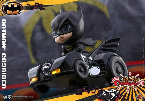 Hot Toys Officially Announces DC Comics CosRider Collectibles