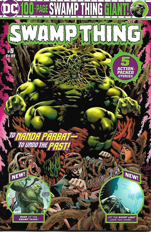 Swamp Thing Volume 2 #5 Cover