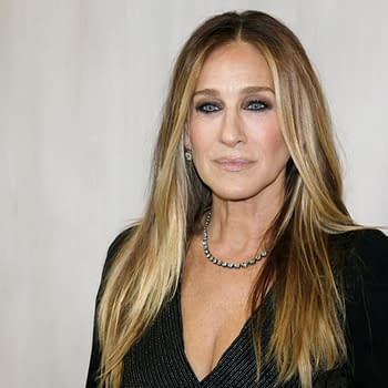 Sarah Jessica Parker at the Hammer Museum Gala In The Garden held at the Hammer Museum in Westwood, USA on October 14, 2017. Editorial credit: Tinseltown / Shutterstock.com