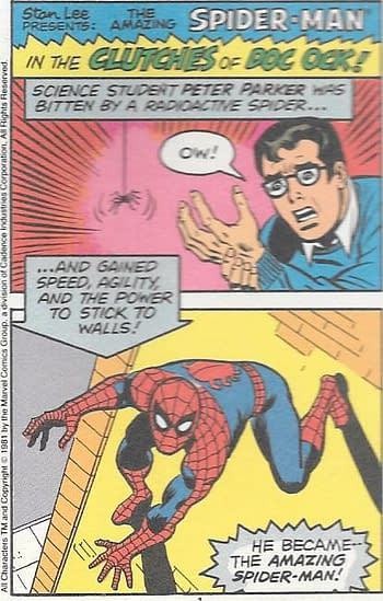The Amazing Spider-Man In The Clutches Of Doc Ock #1 Page 1