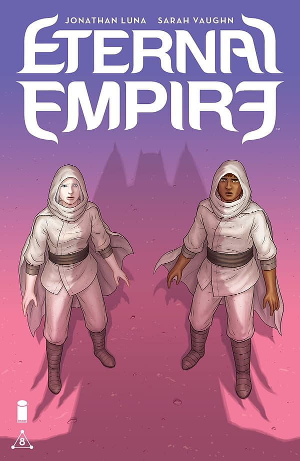 Eternal Empire #8 cover by Jonathan Luna