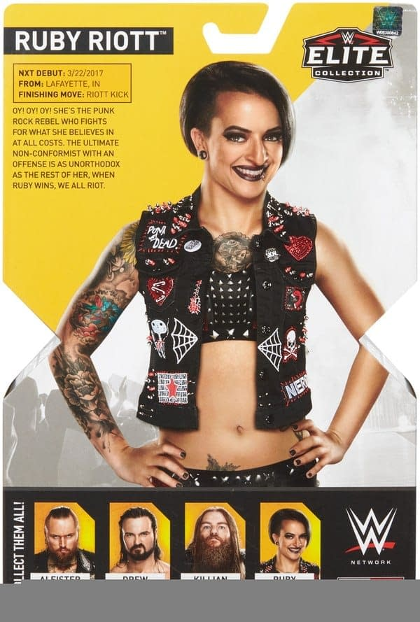WWE NXT Ruby Riott Figure 4