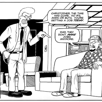 It's Alive! to Publish Jeff Nicholson's Father & Son Omnibus