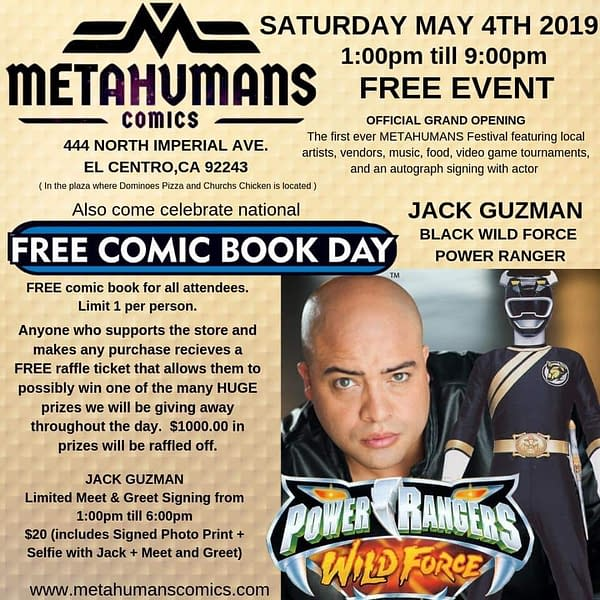 Four Brand New Comic Book Stores Opening This Weekend Across America For Free Comic Book Day