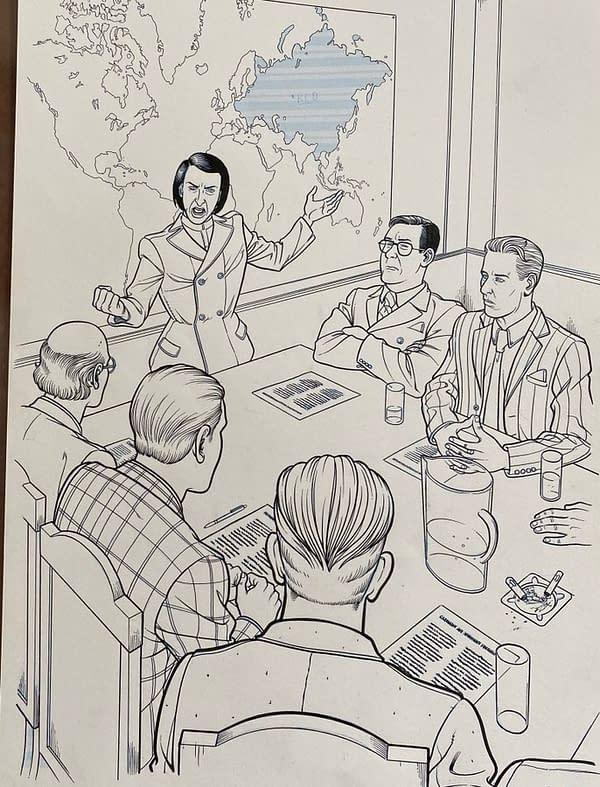 Ivan Reis, Rachel Cooke, Paul Smith Pieces in #ComicWritersChallenge.