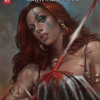 Separated At Birth: Red Sonja Birth of She-Devil #4 and Vera Bambi