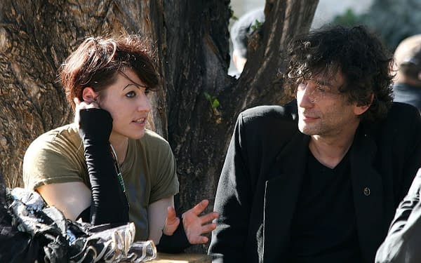 Photo of Neil Gaiman and Amanda Palmer by Manfred Werner - Tsui / CC BY-SA (https://creativecommons.org/licenses/by-sa/3.0)