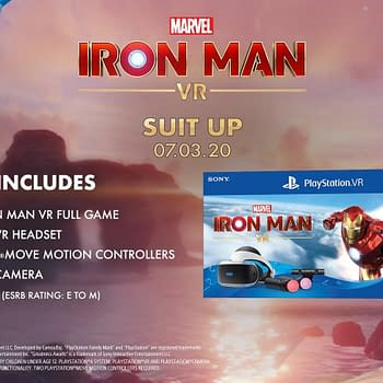 Marvel's Iron Man VR Gets A New PSVR Bundle Pack