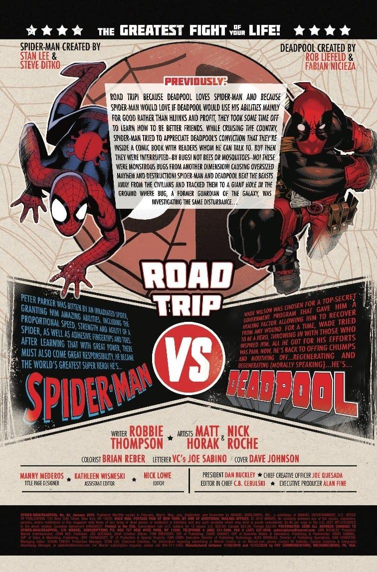 Spidey Thinks of the Children in Next Week's Spider-Man/Deadpool #42