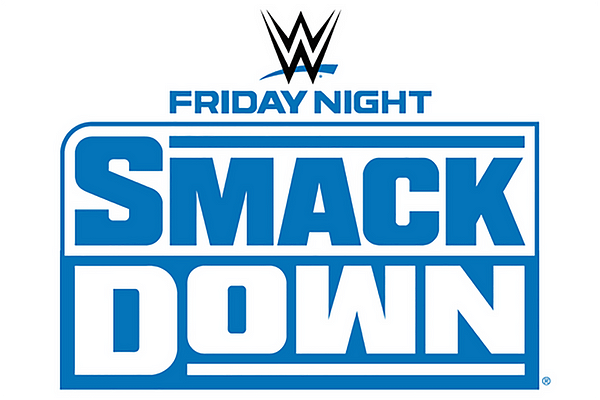 The official logo for WWE Friday Night Smackdown.