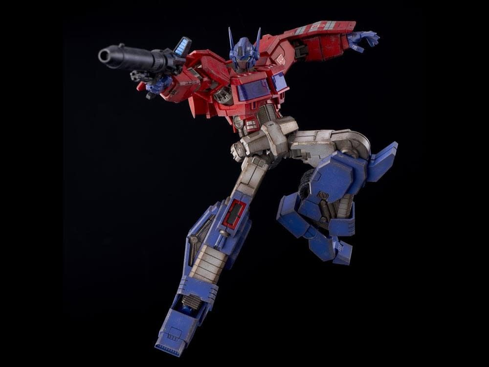 Optimus Prime Gets a Comic Book Makeover with Flame Toys