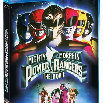 Mighty Morphin Power Rangers The Movie Blu Ray Cover
