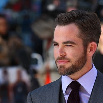 Chris Pine attends the UK Premiere of Star Trek Into Darkness, courtesy of Twocoms and Shutterstock.com.