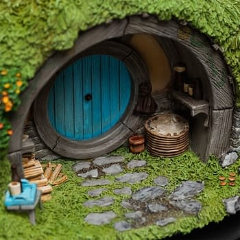 The Hobbit 2A Hill Lane Hobbit Hole from WETA Workshop