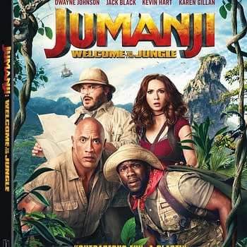 Jumanji: welcome to the jungle blu-ray