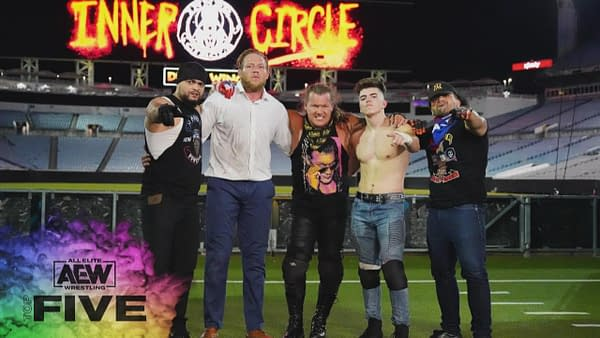 The Inner Circle on last week's Dynamite, courtesy of AEW.