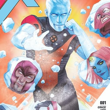 Stay Cool Marvel Shares An Iceman Preview