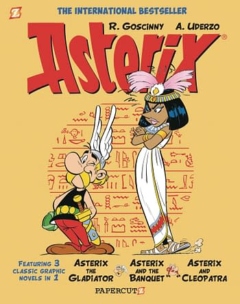 Retailers Asked to Hold Asterix Omnibuses For Two More Weeks.