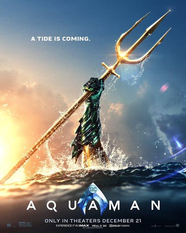 Aquaman Poster NYCC