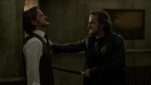 Gabriel in Supernatural (Image: The CW)