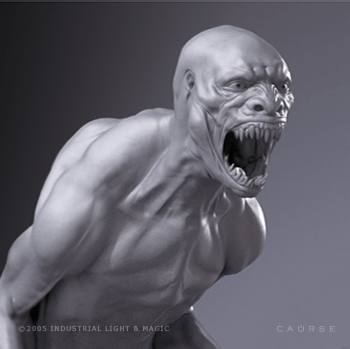 Jurassic Park 4 Concept Art For The Scrapped Dino-Superior Version