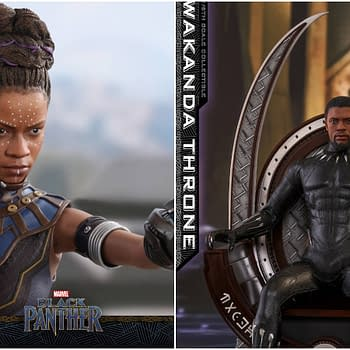 Black Panther Gets Two New Hot Toys: Shuri and the Wakanda Throne