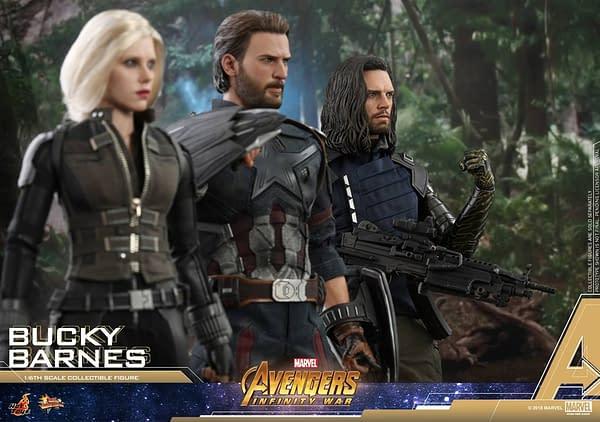 Bucky Barnes Infinity War Hot Toys 4