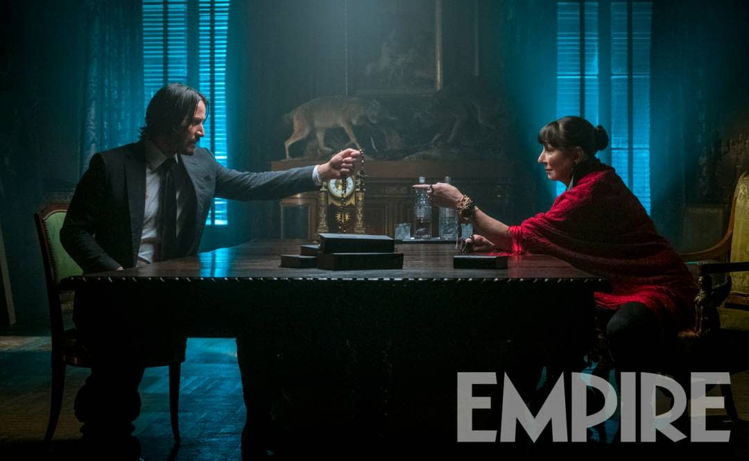 First Look at Anjelica Huston in John Wick: Chapter 3