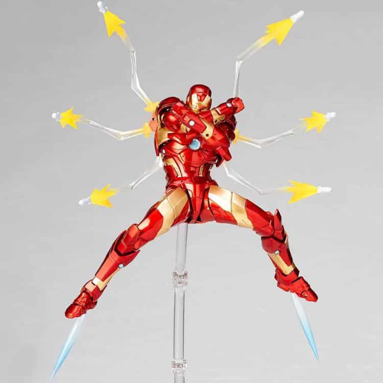 Revoltech Iron Man Figure 7