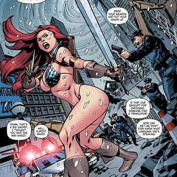 Writers Commentary &#8211 Amy Chu Talks Red Sonja #1