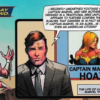 Captain Marvel #8 Gets Rather Topical Regarding President Trumps Tweets (Spoilers)