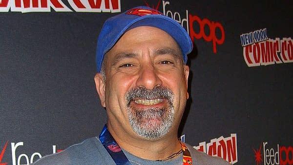 Dan DiDio at New York Comic Con.