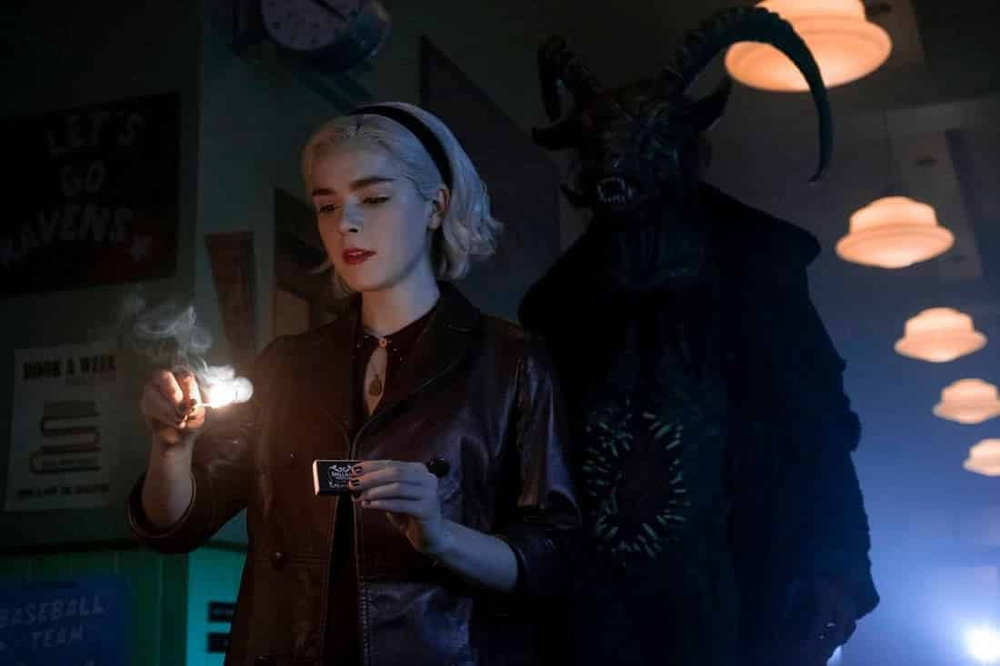 'Chilling Adventures of Sabrina' Part 2: Does Fun, Disturbing Film Tease What's to Come? [VIDEO]