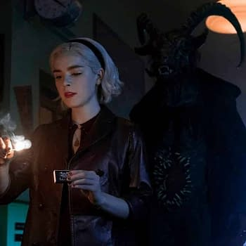 Chilling Adventures of Sabrina Part 2: Sabrina Lights The Dark Lords Fire [PREVIEW IMAGES]