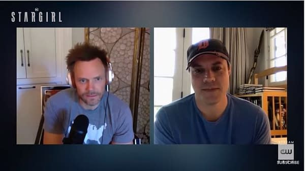 Geoff Johns and Joel McHale talk Stargirl, courtesy of The CW.