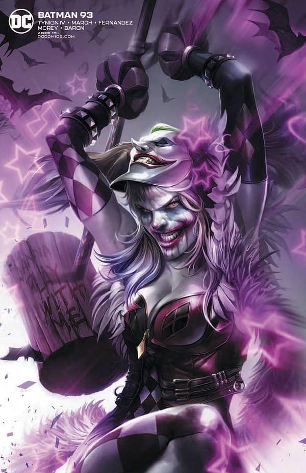 Batman #93 Variant Cover