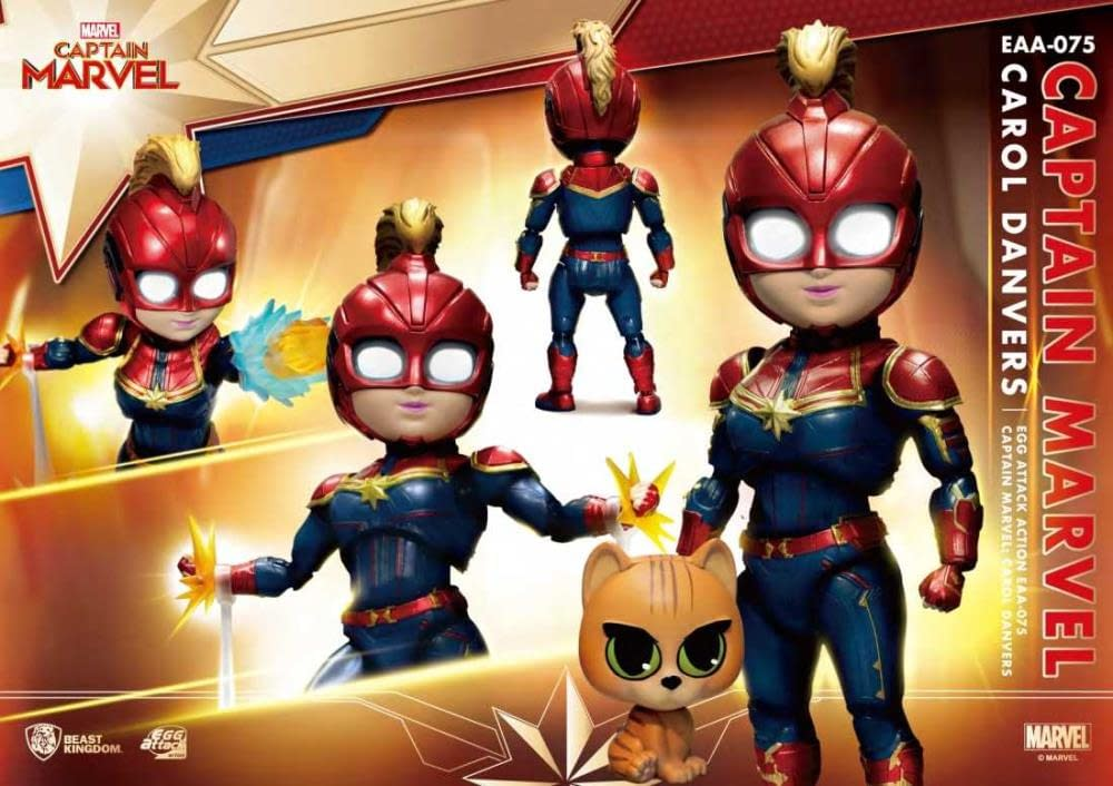 Beast Kingdom Captain Marvel Egg Attack Previews Exclusive 3