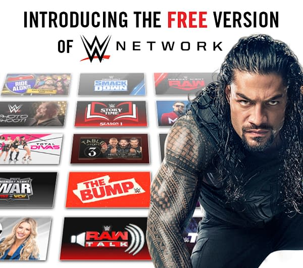 WWE Finally Releases Free Version of WWE Network