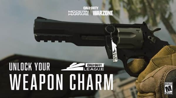 A look at the Call Of Duty League Exclusive Charm from Infinity Ward.