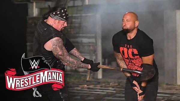 C'est AJ Styles et The OC qui affrontent The Undertaker dans un match Boneyard, gracieuseté de la WWE.