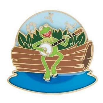 Kermit the Frog Trading Pin Hops Up Just in Time for Earth Day