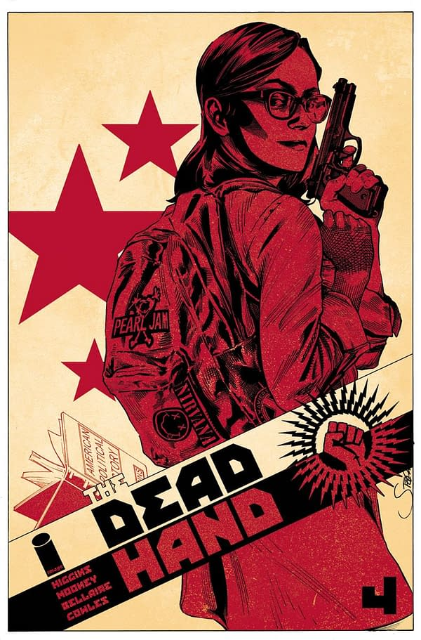 Dead Hand #4 cover by Stephen Mooney